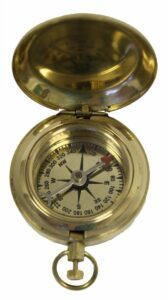 Brass Handicraft Pocket Compass 2 inch $24.99
