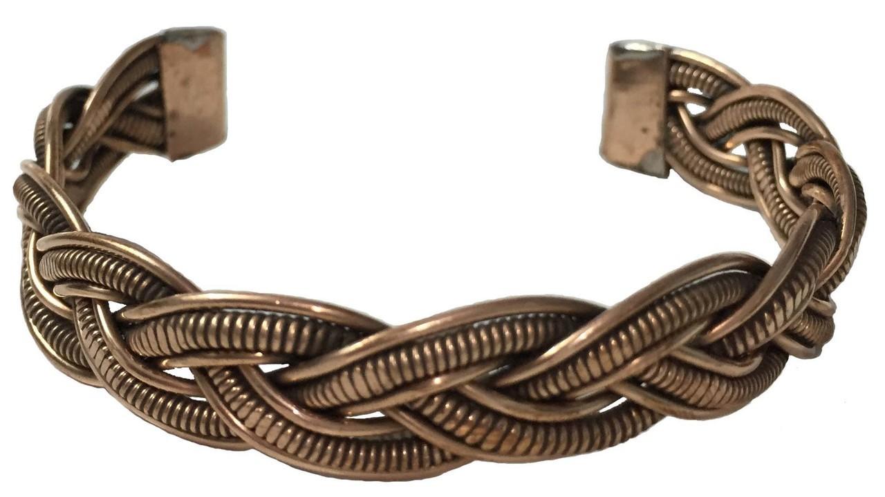 Weave Copper Bracelet $18.99