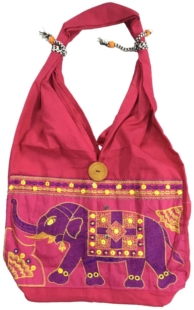 Cotton Hand Bag Elephant $19.99