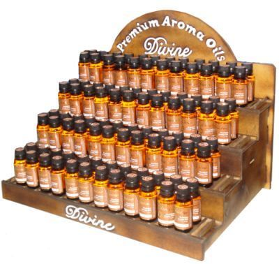capture the natural essences and perfect for burning in stone, ceramic or electric aroma lamps.  Each bottle is $9.99.  Available in   Patchouli Sandal Wood Ylang Ylang Myrrh Good Luck Frank Incense Honey Attracts Money Nag Champa Lavendar Relaxation