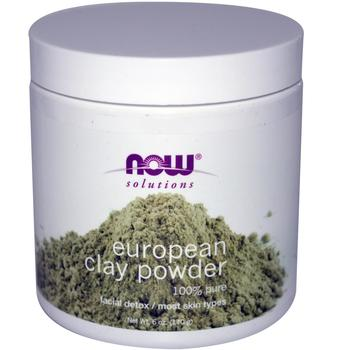 NOW European Clay Powder 100 percent natural Image