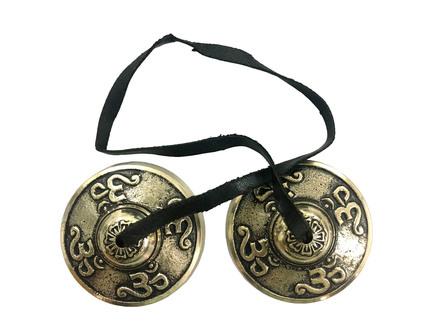 Tibeton Brass Symbols Om $24.99