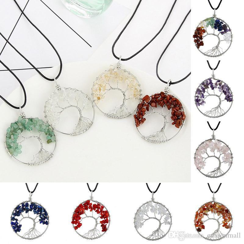 Tree of life stone necklaces $6.99 each