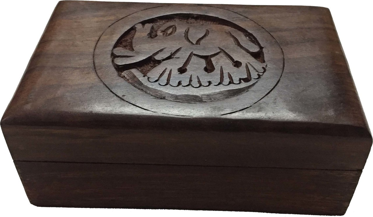 Wood Storage Box (Elephant) 4x6 $22.99