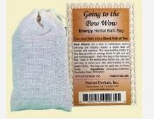 Going to the Pow Wow Nuwati Herbals Bath Bags Image
