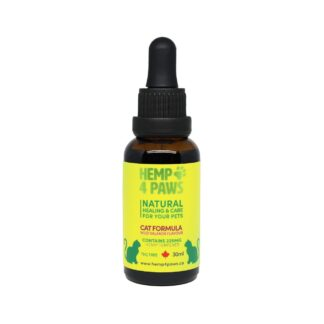 Hemp Oil and Salmon Oil Tincture for Cats