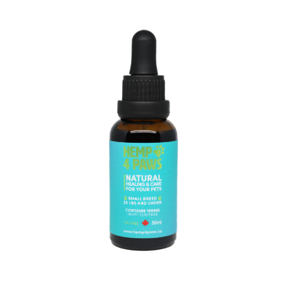 Hemp Oil Tincture for Small Breeds