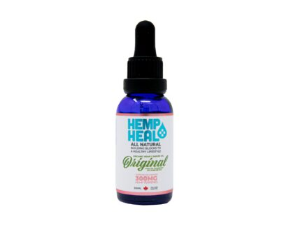 Hemp Oil Tincture 300mg 30ml Bottle