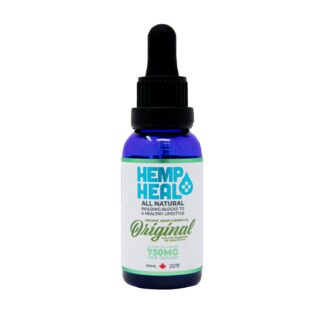 Organic Hemp Oil Tincture 750mg by Hemp Heal