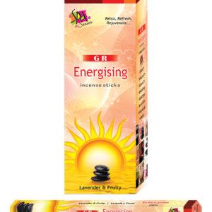 GR Energising Incense Sticks 15 Gram Box