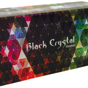 Satya Black Crystal Incense Sticks 15 gram Box