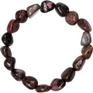 Tumbled Rhodonite Bracelet