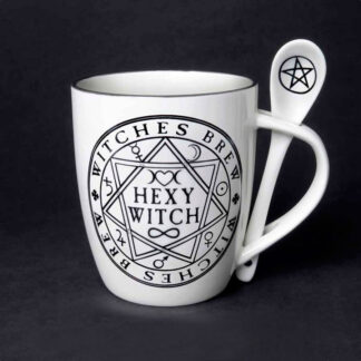 Hexy Witch Mug and Spoon Set