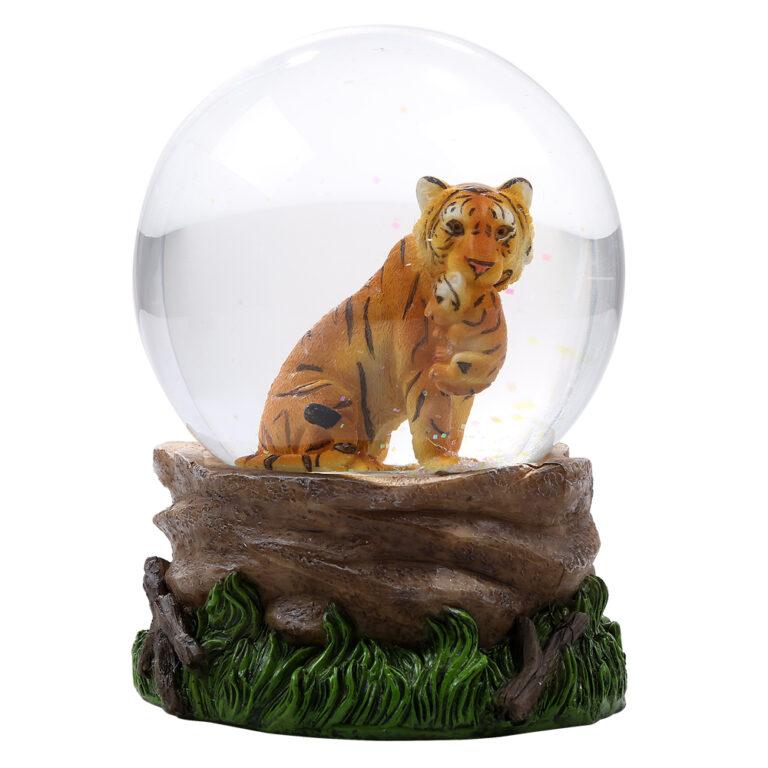 Tiger Water Globe