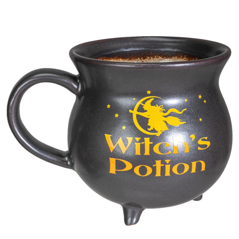 Witch's Potion Cauldron Mug Bowl