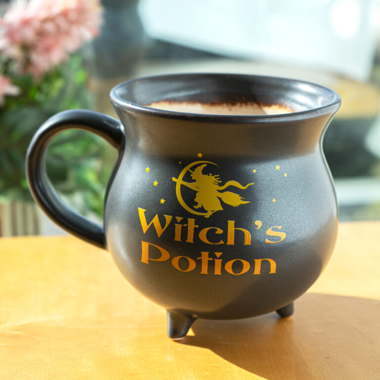 Witch's Potion Cauldron Mug Bowl