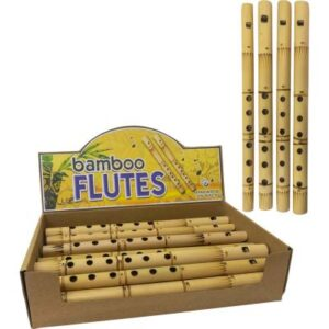 Fire Burned Bamboo Flutes