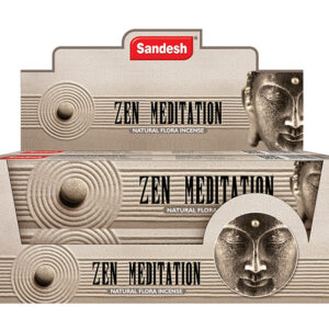 Sandesh Zen Meditation Incense Sticks 15 grams