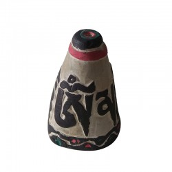 Om Mani Mantra Stone Tibetan Incense Holder