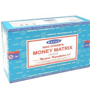 Satya Money Matrix Incense Sticks - 15 gram box
