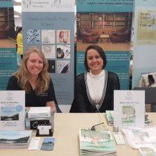 Featured on the right, Terri Beauchamp, Author            Featured on the left, Jenna Stewart, Illustrator