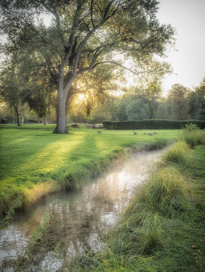 Fall Sunrise - James Schoedler
