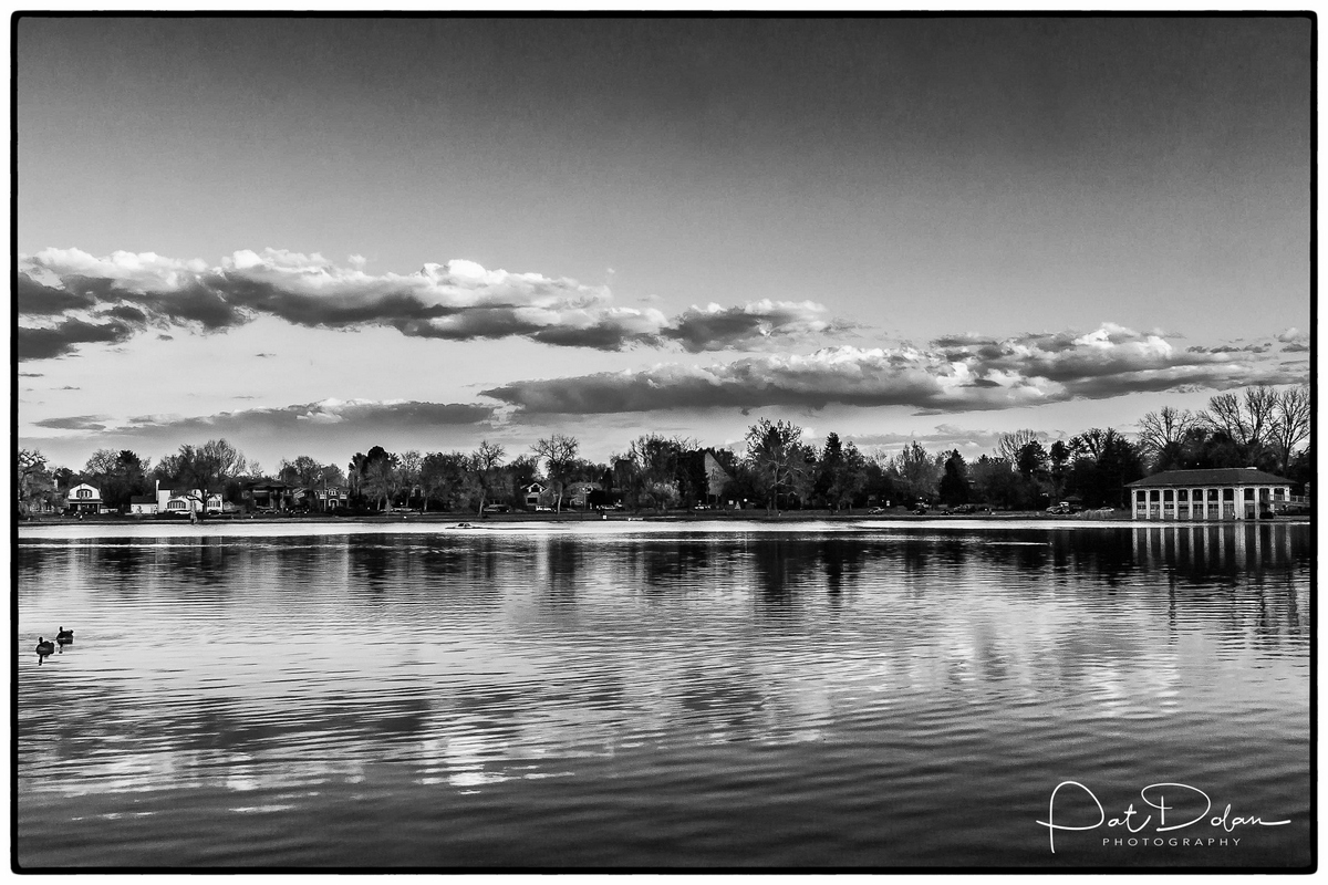 "1st place - Place- ""Black & White Reflections"" - Patrick Dolan"