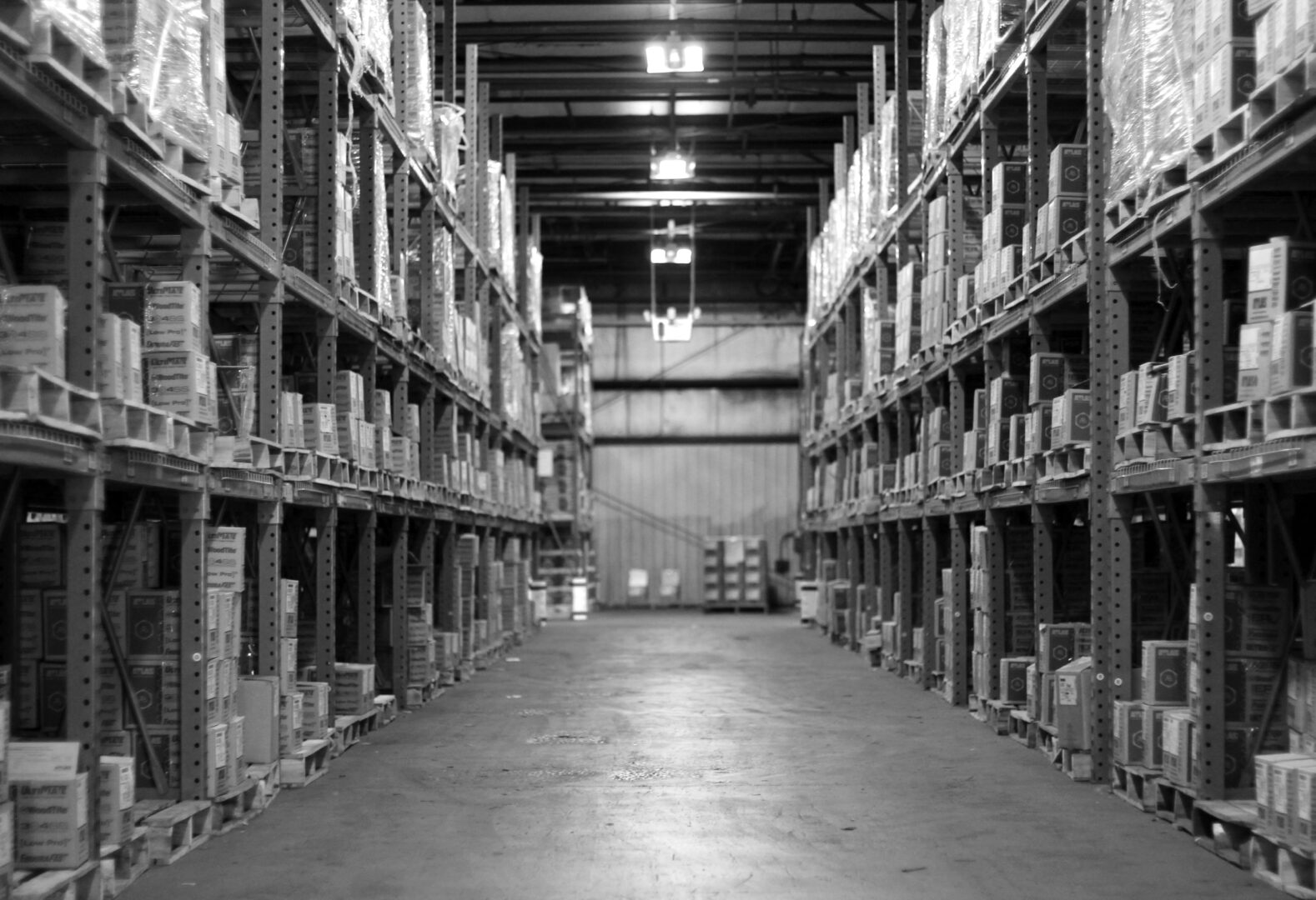 Warehouse b-w 2