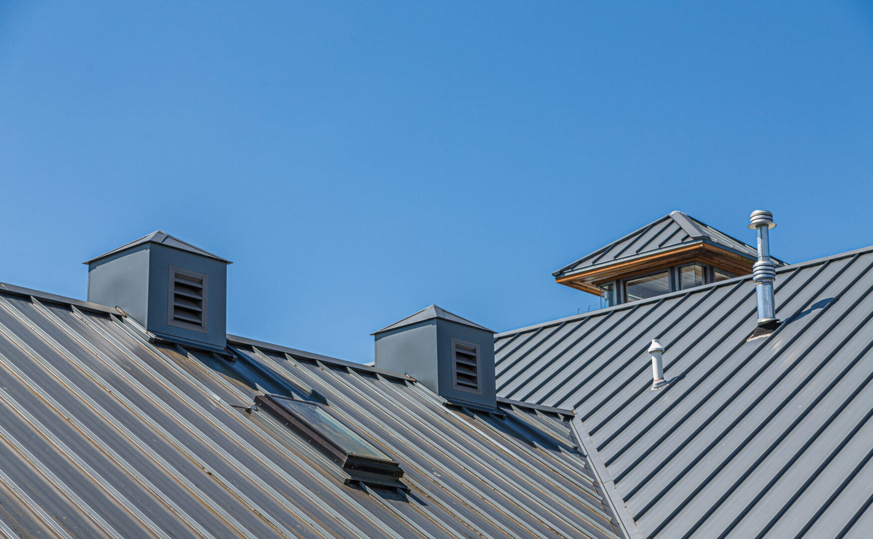 Ribbed Metal Roof