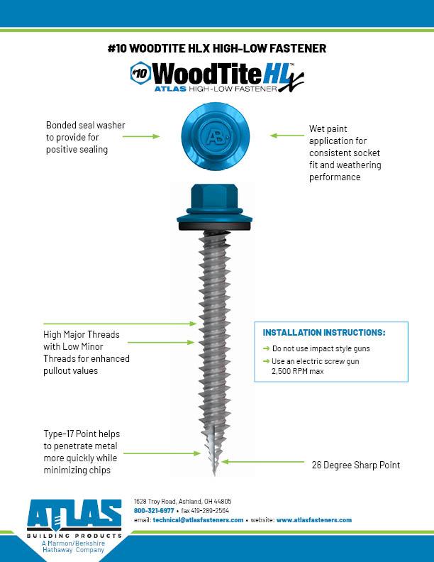 #10 WoodTite HLX new