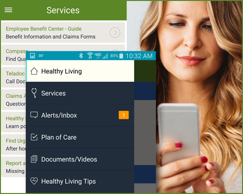 employee benefits app