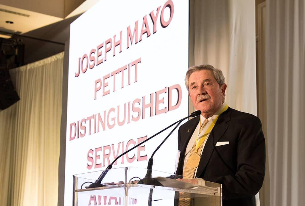 Joseph Mayo Pettit Award