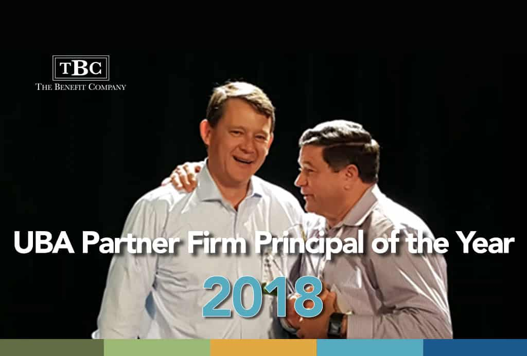 UBA Partner Firm Principal of the Year