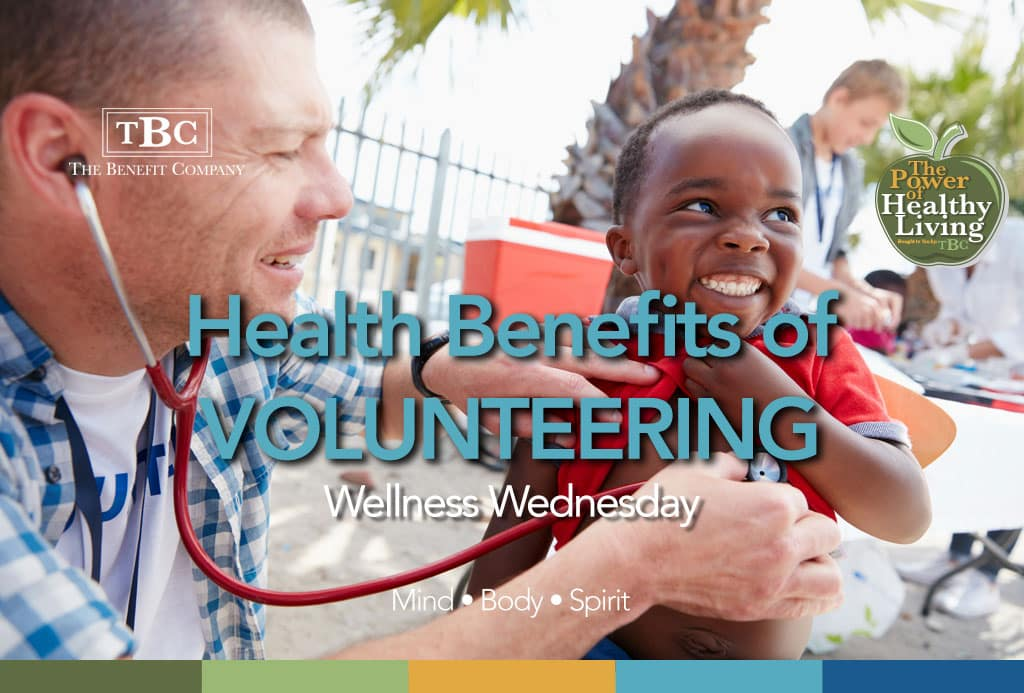 Health Benefits of Volunteering