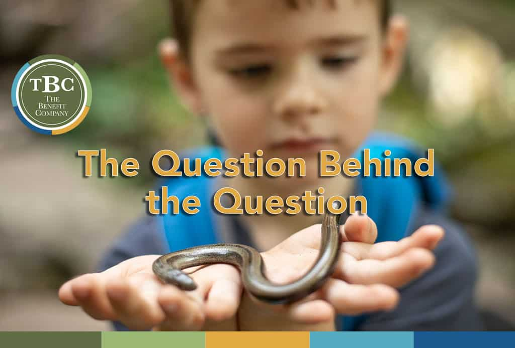 The Question Behind the Question