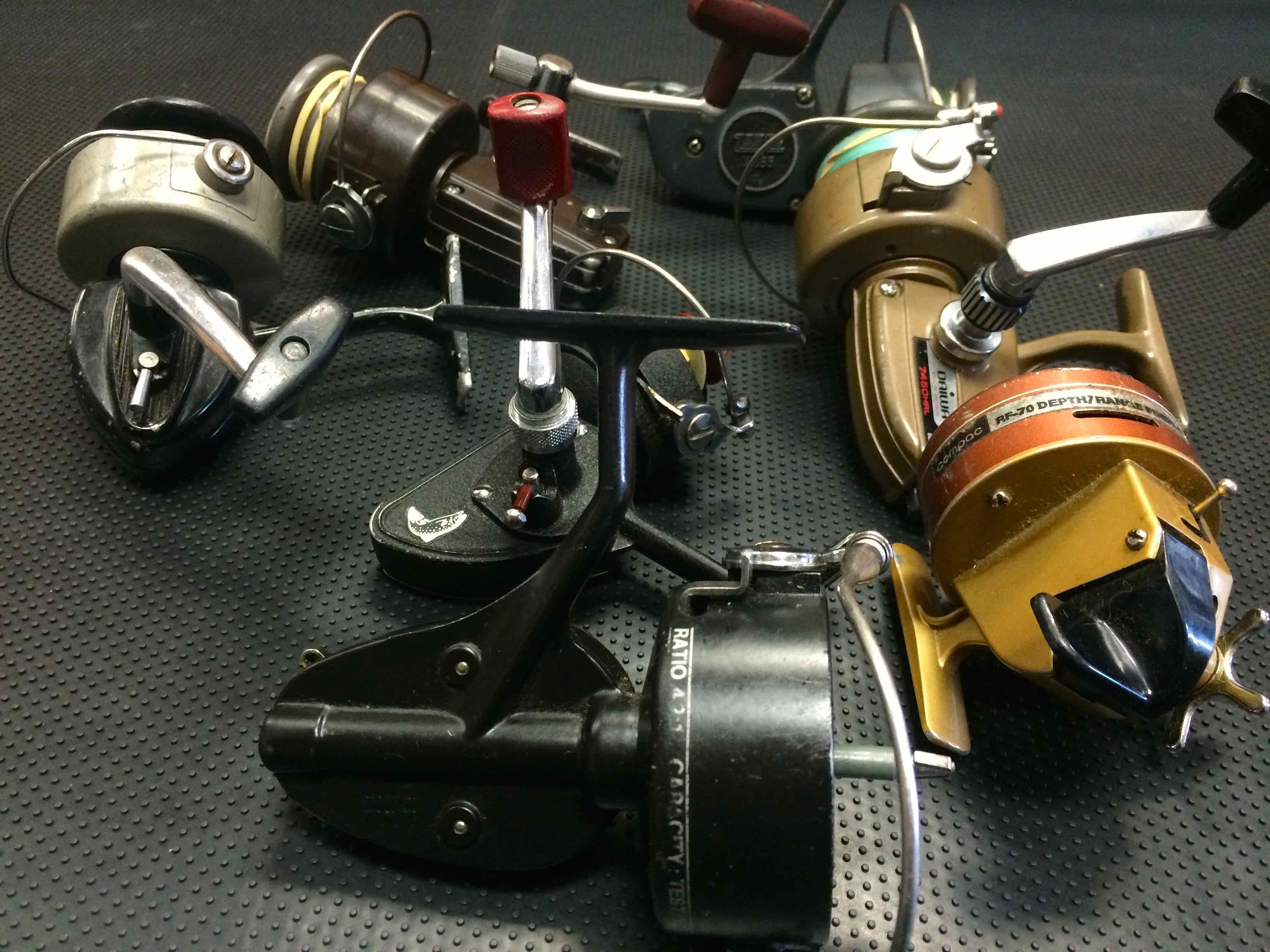 Vintage Spinning Reels Resized for Web