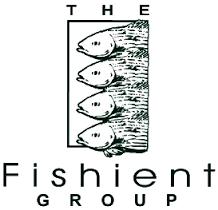 H2O fishient fishing logo