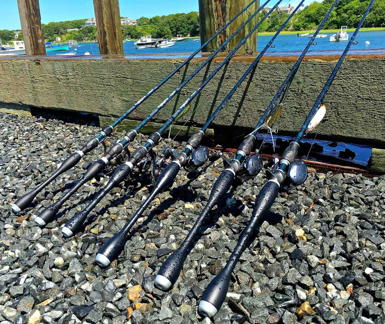 St Croix Line up of Legend Extreme Spinning and Baitcast Fishing Rods BBB