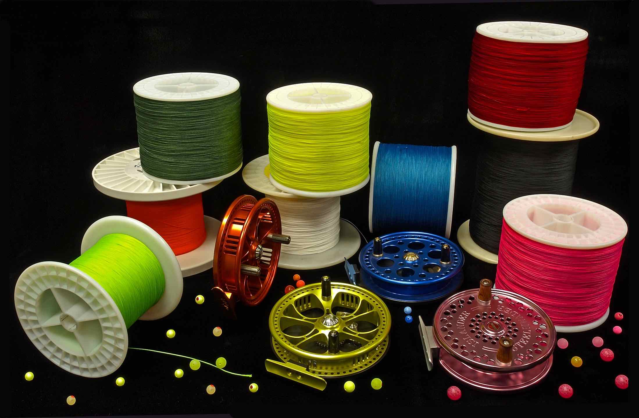 Assorted Centerpin Float Reel and Fly Reel Backing Colours B