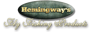 Hemingway's Fly Fishing Products logo