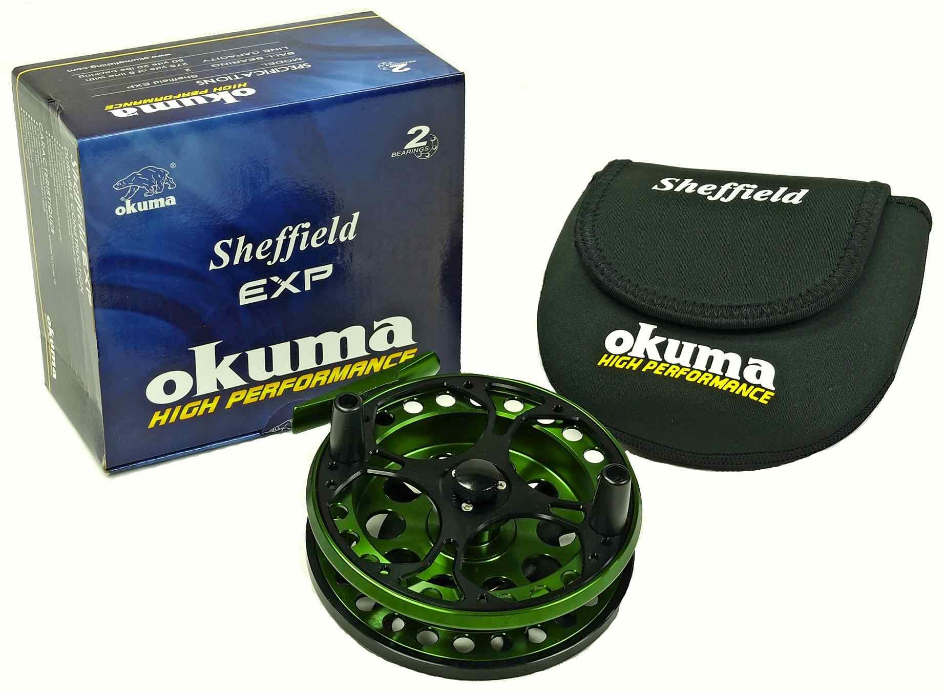 Okuma-Sheffield-EXP-Centerpin-Float-Reel