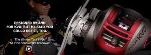 Quantum Fishing Tackle KVD Reel Advertisement