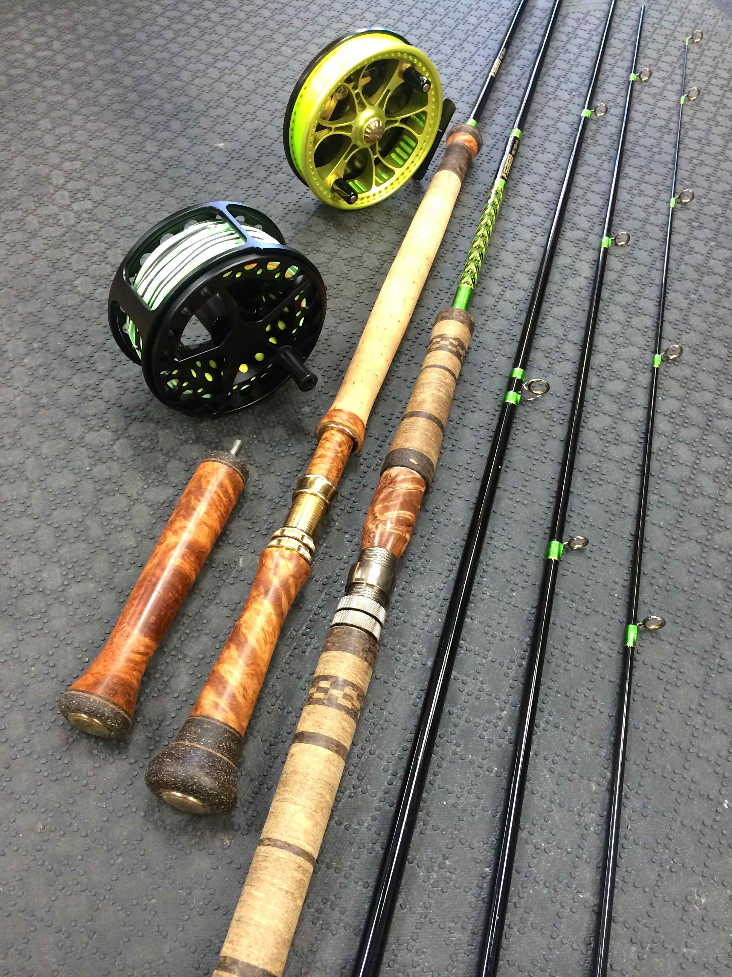 Sage One Custom 7136B-4 Spey and Float Rod Conversion Resized