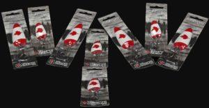 Len Thompson Custom Canada Flag Red Maple Leaf Spoons BB