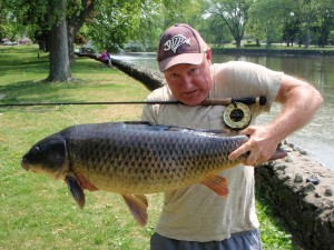 Speed-River-Carp-on-the-Fly-Rod
