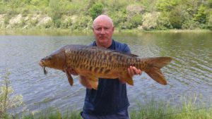Steve Mirror Carp Maitland River on a Cotton Cordell Lipless crankbait