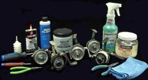 Vintage Reel Cleing Set Up AA