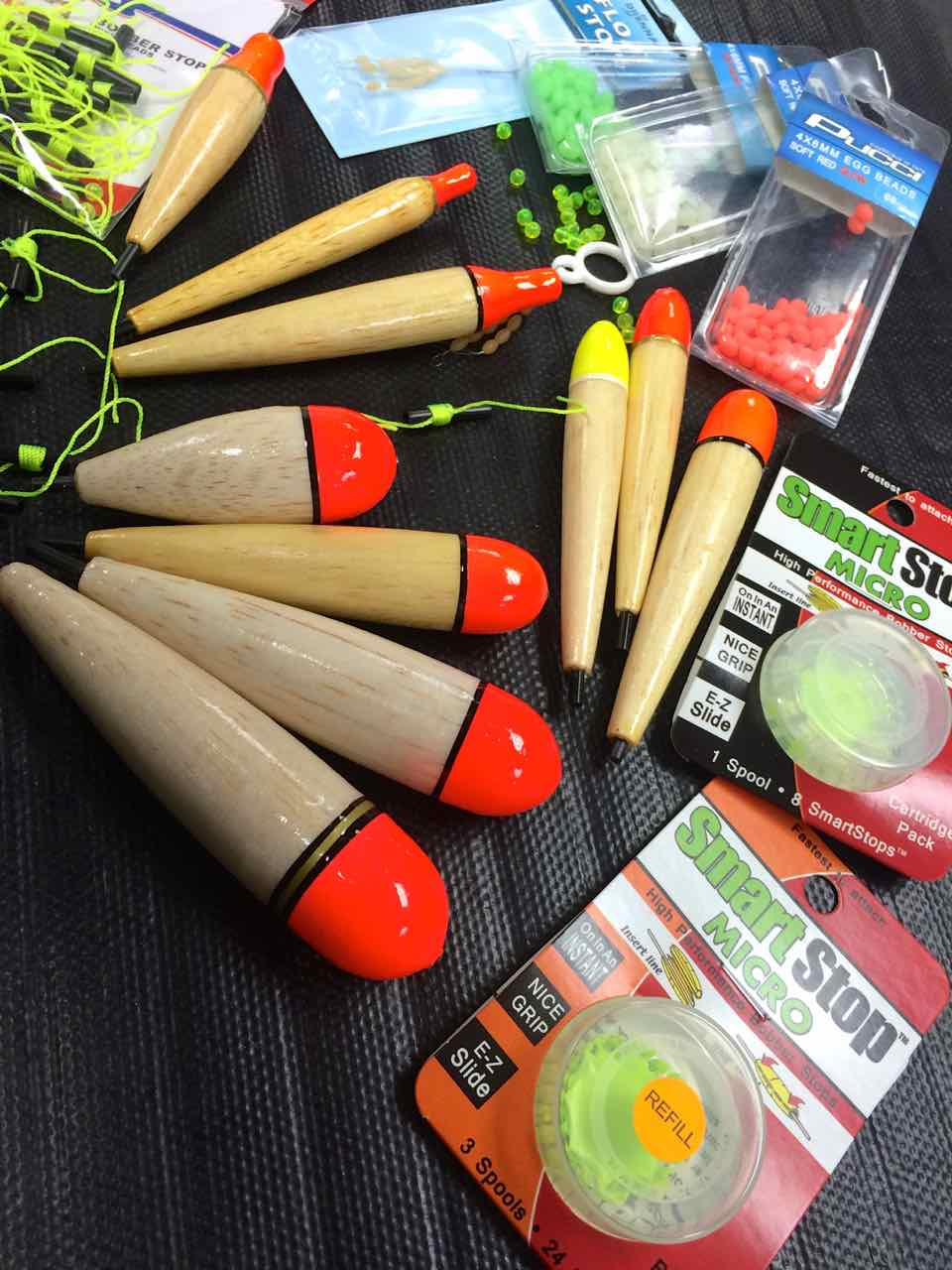 Custom HLS Mamba Steelhead Float Assortment Bobber Stops CC