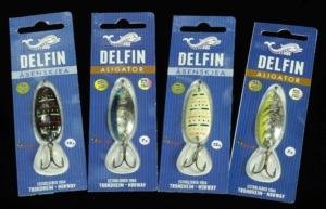 Delfin Aligator - Asenskjea & Trondheim Norway Spoons.