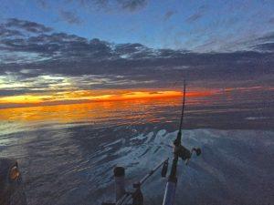 Downrigging Lake Ontario 430am July 2016 BBB